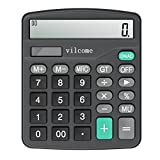 Vilcome Basic Solar & Battery Calculator 12 Digit Large Display Deal