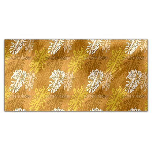 The Bark Beetle Way Rectangle Tablecloth: Large Dining Room Kitchen Woven Polyester Custom Print by uneekee