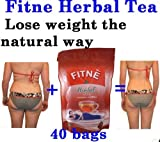 40 bag FITNE Fit Herbal tea Slimming Lose weight Natural Detox Fast Slim Fitness.
