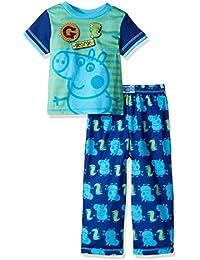 Boys George Pig 2pc Sleepwear Set