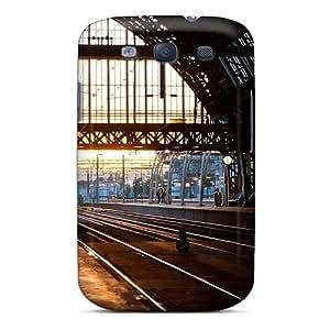 Unique Design Galaxy S3 Durable Tpu Case Cover Platform 5 Amsterdam Central