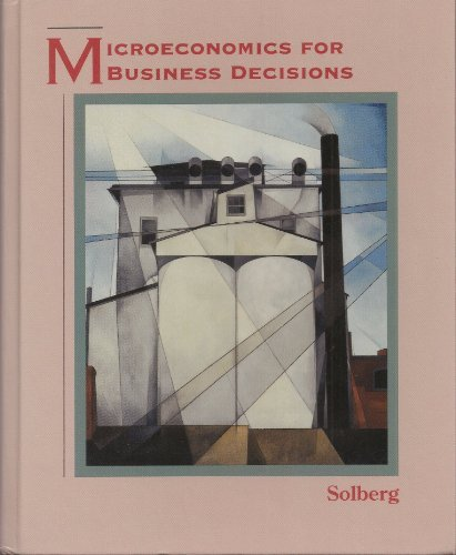 Microeconomics for Business Decisions