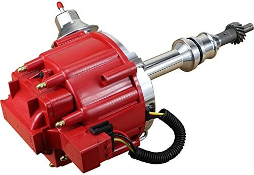 Dragon Fire High Performance Race Series Complete HEI Electronic Ignition Distributor Compatible Replacement For Ford V8 221 255 289 302 302W 5.0L Oem Fit DF8-DF