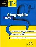 Géographie, terminale, carnet de cours