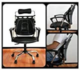 Chair Mesh Seat Back Support Lumbar Cushion Car Office Sitting Position Correcter by STCorps7