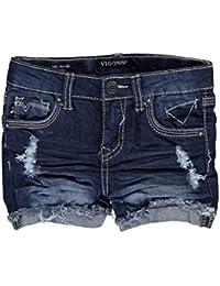 Toddler Girls Butterfly Pocket Denim Shorts