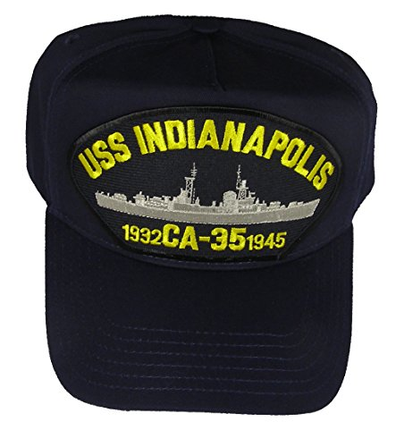 USS INDIANAPOLIS CA-35 1932-45 HAT - Navy Blue - Veteran Owned Business