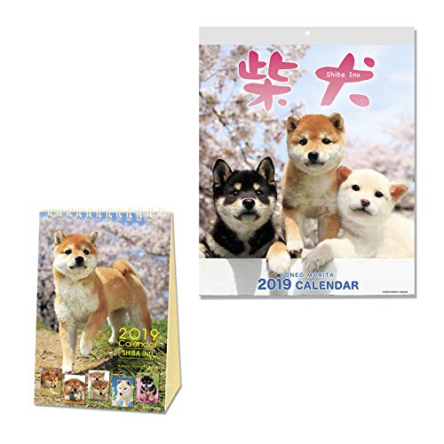- Shiba Inu Calendar 2019 with Adorable Shiba Dogs' Pictures | US Holidays & Japanese Holidays | in English | Made in Japan (Desktop & Wall Calendar 2019 Sets)