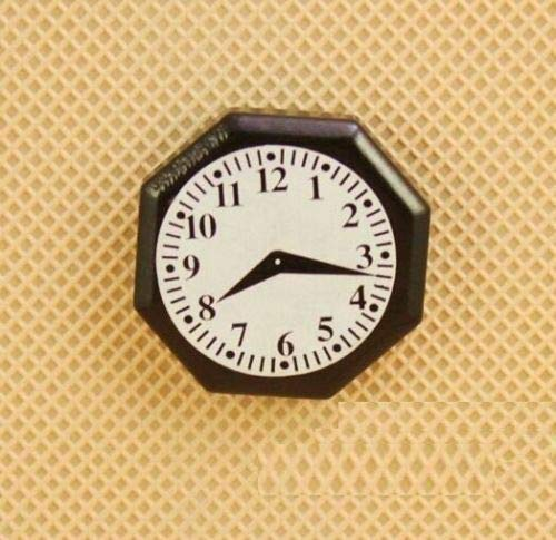 1:12 Scale Octagonal Hanging Clock Dollhouse Miniature Re-ment Doll Home Scene ☆ from Brosco