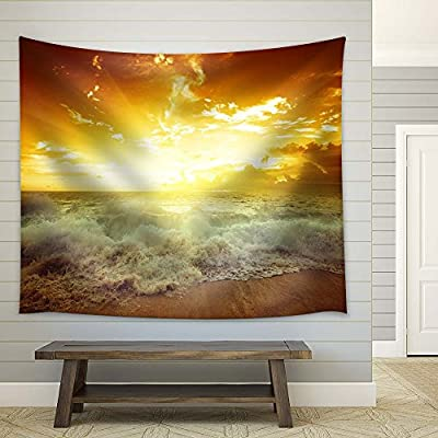 Rising Tide at Sunset, Original Creation, Magnificent Visual