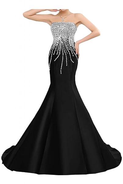 Vestido de fiesta vestido de la sirena trajes de noche ...