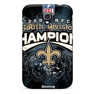 JasonPelletier Samsung Galaxy S4 High Quality Hard Phone Covers Custom Vivid New Orleans Saints Pictures [BAY7057qNxe]