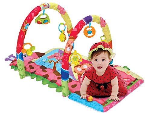 [New Arrival, March 2016] PLS Baby Rattle Playmat, CLEARANCE - ON SALE, Extra Thick, Rattle Toys, (Clearance Baby)