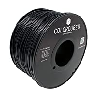 ColorCubed ABS Premium 3D Printer Filament 2LB Spool, 1.75mm, Black from ColorCubed