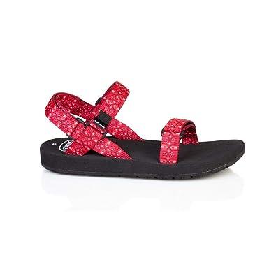 228d7b90e7 Source - Sandalias de vestir de material sintético para mujer rojo Tribal  Red: Amazon.es: Zapatos y complementos