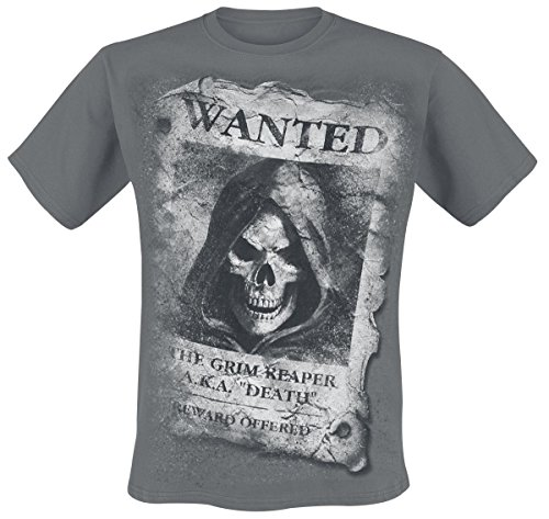 Spiral Wanted T - Shirt, schwarz