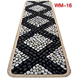EliteShine Massage Mat Christmas Gift for Daddy New Year Gift for Mom Health Care Pad Bathroom Mat Kitchen Rug Foot Massage Leg Massage Garden Pave Way Natural Pebble Stones Mat