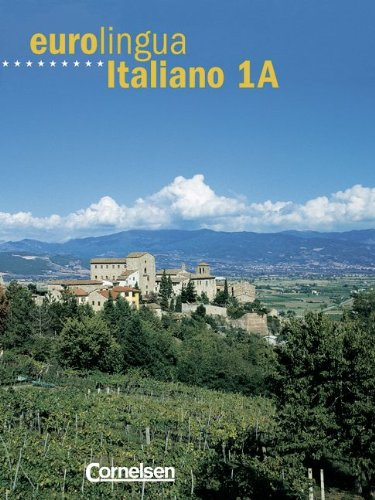 Eurolingua Italiano, Bd.1A, Kursbuch, m. Vocabolario