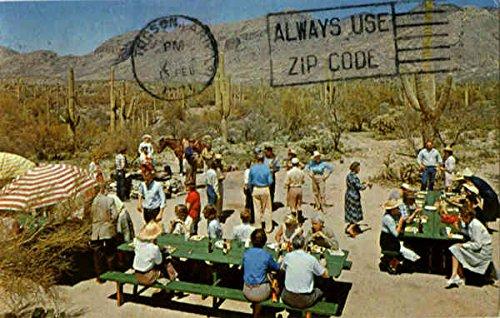 Hacienda Del Sol Ranch Club Tucson, Arizona Original Vintage Postcard