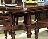 "Steve Silver Company Antoinette Dining Table with 24"" Leaf, 48""W x 96"" - 120"" x 30""H"