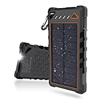 Solar Charger,10000mah Solar Portable Ph...