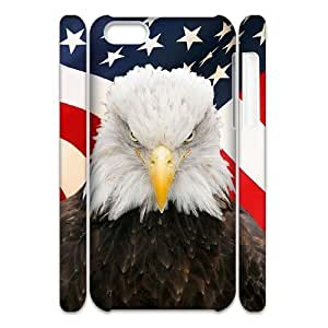 linJUN FENGBald Eagle Brand New 3D Cover Case for ipod touch 5,diy case cover ygtg579619