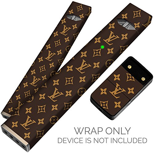 Original Skin Decal for PAX JUUL (Wrap Only, Device Is Not Included) - Protective Sticker ( LV Luxury - Gucci Colors Logo