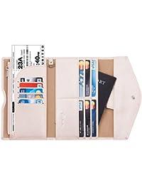 Rfid Blocking Passport Holder Wallet & Travel Wallet Envelope 7 Colors