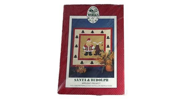 Amazon.com: alma lynnes works of heart applique quilt pattern santa