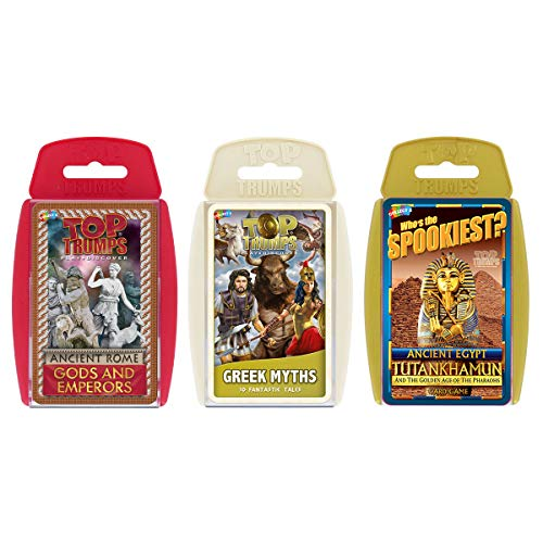 Ancient Civilizations Top Trumps Card Game -