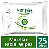 Simple Micellar Facial Wipes 25 PC