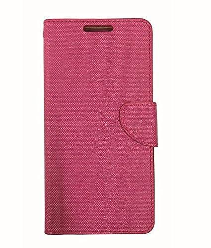 big sale 92d3f 266c0 Ceffon Flip Cover Case For LeEco Letv Le 1S-Pink: Amazon.in: Electronics