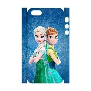 3D Case For Iphone 6 4.7 Inch Cover Case Elsa Sister Protector for Girls, Case For Iphone 6 4.7 Inch Cover Teen Girls Stevebrown5v, [White]
