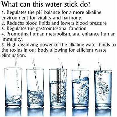 drhob 1 pc Nueva Salud Agua Alcalina palo PH hidrógeno ionizador ...