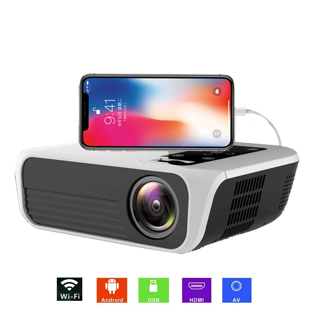 Zichen Proyector inalámbrico WiFi Proyector Smart HD LED Proyector ...