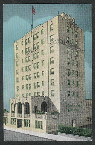 Crillon Hotel Indiana & Pacific Avenue Atlantic City NJ postcard 1950s (Atlantic City Nj Postcard)