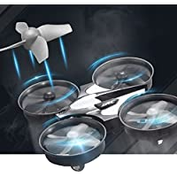 Littleice JJRC H36 6-axis RTF 2.4GHz Gyro Headless Mode Mini RC Quadcopter Remote Control Drone (Gray)