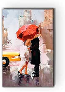 Atiq Canvas Wall Decor Painting with Inner Frame Size 40x60 cm