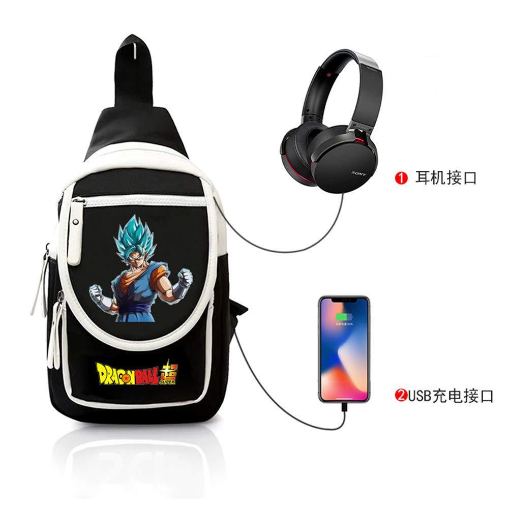 Brusttasche Sling Rucksack Rucksack Rucksack Schultertasche Brusttaschen für Damen und Herren Dragon Ball Anime Daypack Sporttasche B07PHJMGXR Daypacks Mangelware 7b58c2