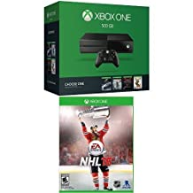 Xbox One 500GB Console - Name Your Game Bundle with NHL 16
