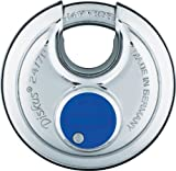 ABUS 24IB/70RK B 5-pin Stainless Steel Rekeyable Diskus Padlock