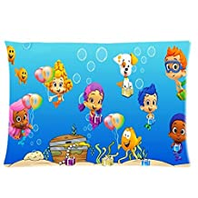 Custom Bubble Guppies Molly Gil Goby Deema Oona Nonny Ideas One Side Printed for 20 X 30 Inch Pillow Cases (05)