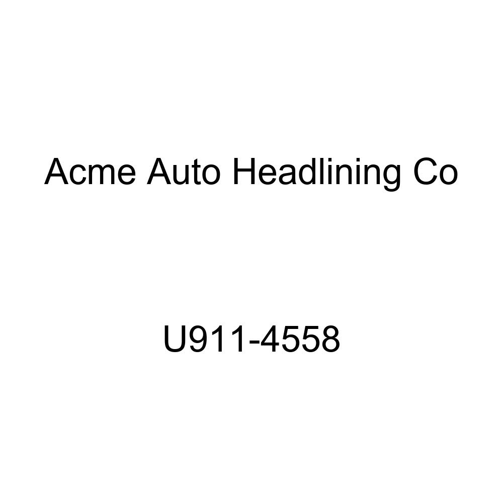 Acme U911-4558 Red Vinyl Front Bucket and Rear Bench Seat Upholstery