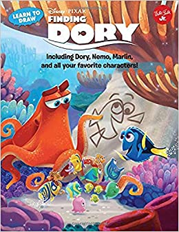 Learn To Draw Disney Pixars Finding Dory Including Nemo Marlin And All Your Favorite Characters Licensed Storybook