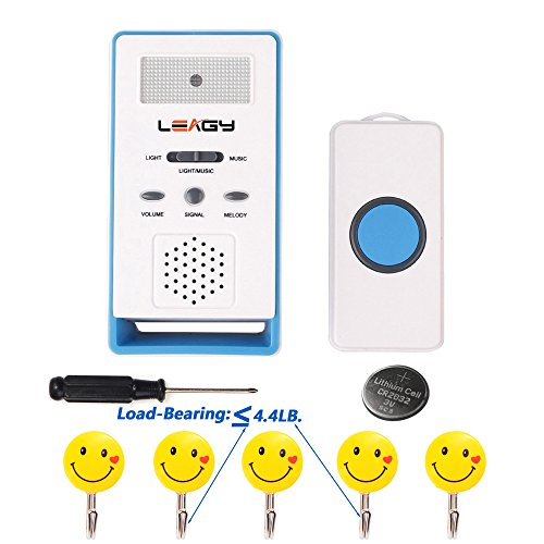 LEAGY Wireless Paging System Remote Call Button Nurse Cal...