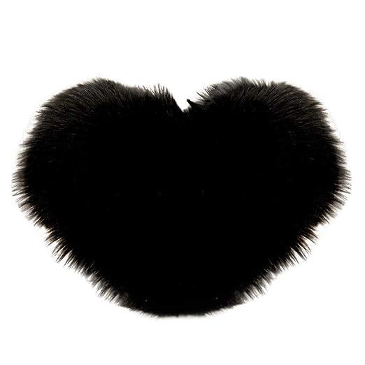 Almohadillas W-Shufang En Forma de corazón de Felpa sólida ...
