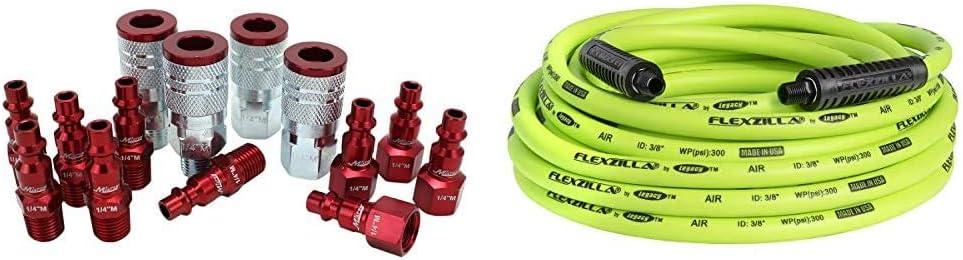 ColorFit by Milton Coupler & Plug Kit + Flexzilla Air Hose