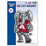 NCAA Alabama, University of 67744011 University of Alabama Die Cut Logo Magnet, Small, Black
