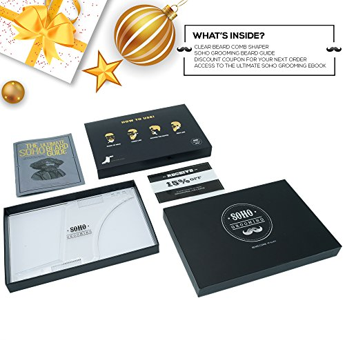 Beard Shaping Booklet PREMIUM Packaging product image