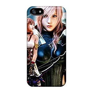 Awesome Case Cover/iphone 5/5s Defender Case Cover(lightning Returns Final Fantasy Xiii)